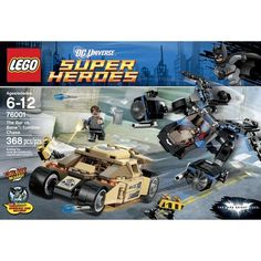 Lego DC Super Heroes The Bat vs. Bane: Tumbler Chase from Target or Wal-Mart.