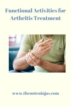 In a study facilitated by Andrade, et al (2016), activity limitations of patients with arthritis were impacted mostly by decreased grip strength and hand ROM. Decreased fine motor coordination and overall impaired stren...