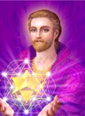 SAINT GERMAIN- one used in a Ascended Masters deck. Love this pic!