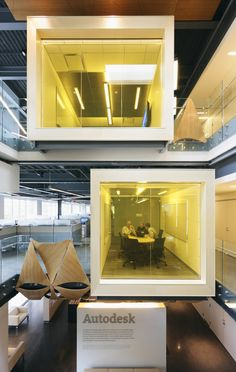 crazy awesome autodesk meeting rooms