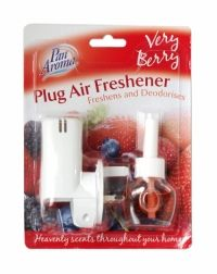 PAN AROMA PLUG AIR FRESHENER VERY BERRY Air Freshener, Health And Beauty, Plugs, Berry, Household, Fragrance, Blueberry, Buttons, Perfume