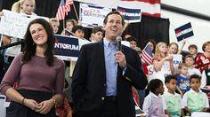 40 #prezpix #prezpixrs   election 2012  candidate: Rick Santorum  publication: abc news  photographer: Jessica McGowan/Getty Images  publication date: 3/13/12