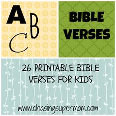 ABC Bible Verses