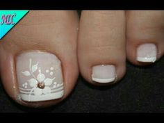 Nail Art Designs, Pedicure Designs, Pedicure Nail Art, Toe Nail Art, Acrylic Nails, Pretty Toe Nails, Cute Toe Nails, Fancy Nails, Feet Nail Design