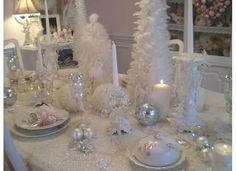 Olivia's Romantic Home: Annamarie's Pink Christmas Home Tour http://shabbychictreasures.blogspot.com/2013/12/annamaries-pink-christmas-home-tour.html