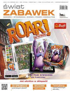 Sława i chwała w mediach, czyli Roar na okładce Świata Zabawek!