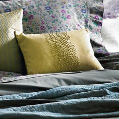 Fulton French Knot Pillow, part of the Heirloom Collection designed by Beekman 1802 in Sharon Springs, NY