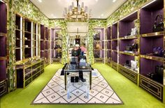 Tory Burch Stores - love her interior designs