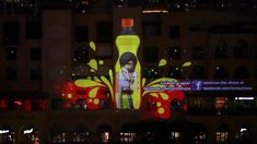 Fanta Chase Dubai, 3D Projection Mapping