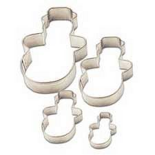 Snowman Cookie Cutter Set 4 Piece by Wilton-Discontinued Cake Decorating Supplies, Baking Supplies, Christmas Cookie Cutters, Christmas Cookies, Snowman Cookies, Cookie Cutter Set, Sweet, Tips, Pretty