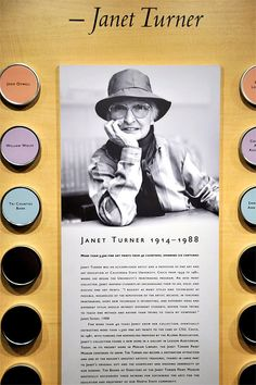 Janet Turner Print Museum.  She was a favorite professor in college.
