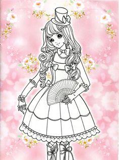 Korean Coloring Book - pink - Mama Mia - Álbuns da web do Picasa Princess Coloring Pages, Colouring Pages, Adult Coloring Pages, Coloring Books, Korean Princess, Anime Princess, Picasa Web Albums, Girly, Aurora Sleeping Beauty