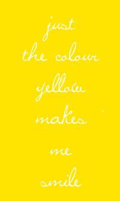 .. yellow