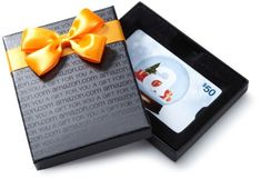 Amazon.com $50 Gift Card with Gift Box (Holiday design) $50.00