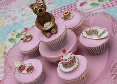 Teddy Bear's Picnic Cupcakes | www.facebook.com/vctoriaskitc… | Flickr