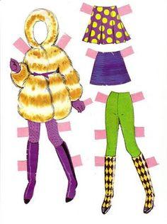 (⑅ ॣ•͈ᴗ•͈ ॣ)♡                                                             ✄Paper Doll Bonecas de Papel: twiggy