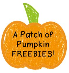 The Teaching Resource Resort: Pumpkin Patch Palooza ~ A Patch of 20 Pumpkin FREEBIES!!!