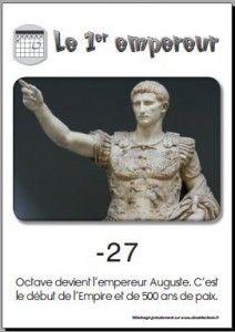 17 Auguste 1er empereur romain
