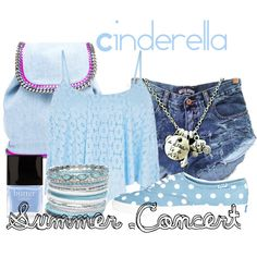 """Cinderella- Summer Concert"" by dauntless-killjoy-tardis on Polyvore"