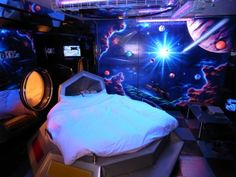 How to Create an Outer Space Themed Bedroom That\'s Out of This ...
