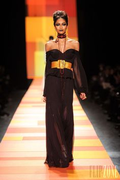 Jean Paul Gaultier Spring 2013 Couture - Frifa Pinto