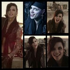 Andy Six is hot! Black Veil Brides - In The End