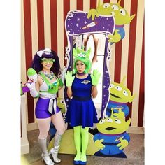 Aliens toy story costume