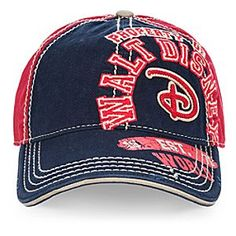 Walt Disney World Collegiate Baseball Cap | Disney Store Check out this baseball hat from the Walt Disney World athletics department and wear it until you hit a home run in fun fashion. It's sure to be your lucky charm.