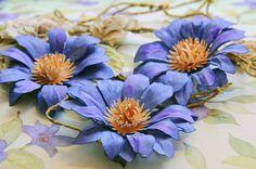 Swirlydoos Monthly Scrapbook Kit Club: Forums / Flower Tutorials / Purple Passion Flower Tutorial