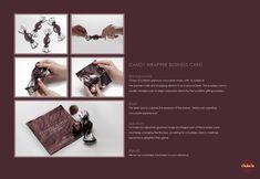 Choko la: Candy wrapper business card