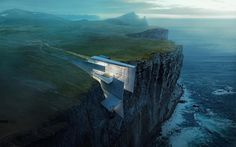 Cliff Retreat? Yes please : #conceptdesign Alex Hogrefe