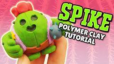 Spike (Brawl Stars) Fimo Polymer Clay Tutorial #spike #brawlstars #fimo #clay