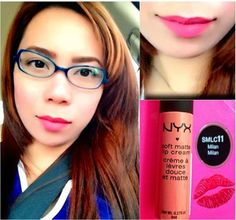 @pinkwarrioress com o Soft Matte Lip Cream Milan