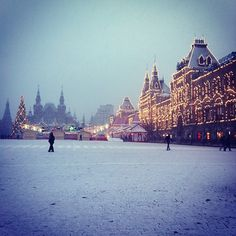 Winter in Moscow #Russia