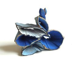 Things happen in a garden – series, wood collection, brooch, Flora Vagi