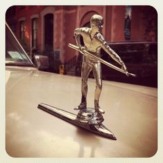 Best. Hood. Ornament. Ever...Re-pin...Brought to you by #HouseofInsurance for #CarInsurance #EugeneOregon