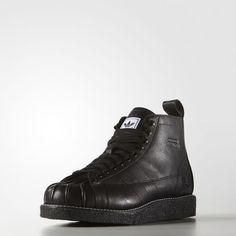 new concept d1d0c 3c7d9 adidas - Neighborhood Shell-Toe Boots Adidas Superstar, Svarta Stövlar,  Adidas Originals,