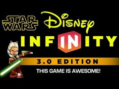 Disney Infinity 3.0- This Game is Awesome - YouTube Video  #starwars