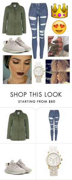 """ok✨"" by fashion-1407 on Polyvore featuring Madewell, Topshop, adidas Originals, Michael Kors, women's clothing, women's fashion, women, female, woman and misses"