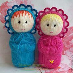 """Купить """"Лялечки"""" вязаные куклы - кукла, вязаная кукла, подарок, подарок для девочки, девочка ♡"""