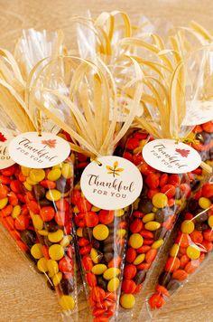 Harvest Corn Thanksgiving Treat Bags
