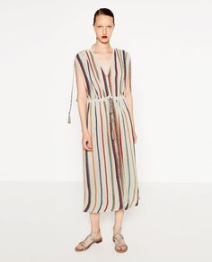 STRIPED DRESS-DRESSES-WOMAN | ZARA United States