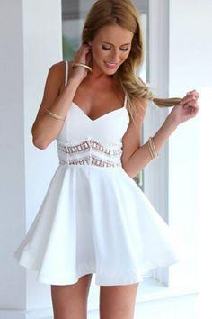 favourite-v-neck-lace-paneled-skater-dress