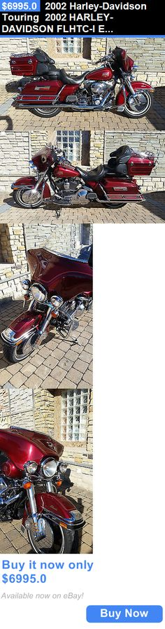 Motorcycles: 2002 Harley-Davidson Touring 2002 Harley-Davidson Flhtc-I Electra Glide Classic BUY IT NOW ONLY: $6995.0