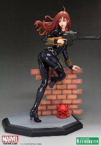 Black Widow Covert Ops Bishoujo Statue by Kotobukiya Bishoujo Statue, Black Widow Cosplay, Anime Figurines, Image List, Natasha Romanoff, Geek Art, The Flash, Marvel Dc, Marvel Comics