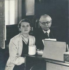 Josef Lada s dcerou Alenou