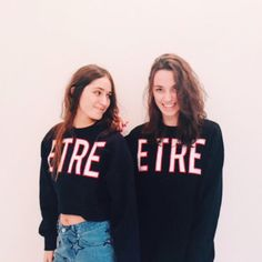 "Twining in ""Etre Terrestrial"" Sweatshirts- AW16 Etre Cecile"
