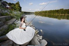 Probably gonna need a picture of me in my wedding dress fishing...I mean does it get any cooler than that?! Keywords: #weddings #jevelweddingplanning Follow Us: www.jevelweddingplanning.com  www.facebook.com/jevelweddingplanning/