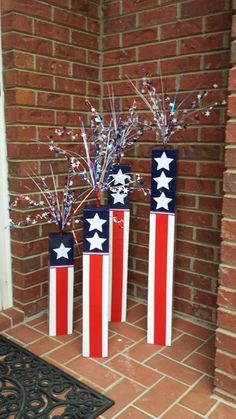 61 Fourth of July Decor Ideas For a Patriotic Party — AutoCukz Journal Fourth Of July Decor, 4th Of July Decorations, 4th Of July Party, July 4th, 4th Of July Wreath, Outdoor Decorations, Memorial Day Decorations, Independence Day Decoration, 4th Of July Celebration