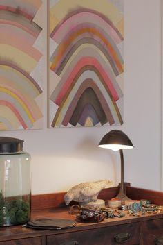 abstract art, turquoise @ terrarium